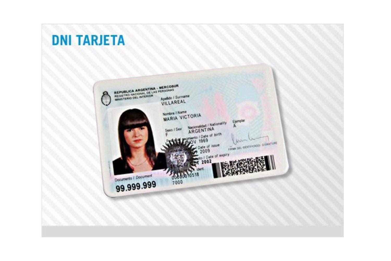 Trámite tramitar tarjeta de identificación DNI