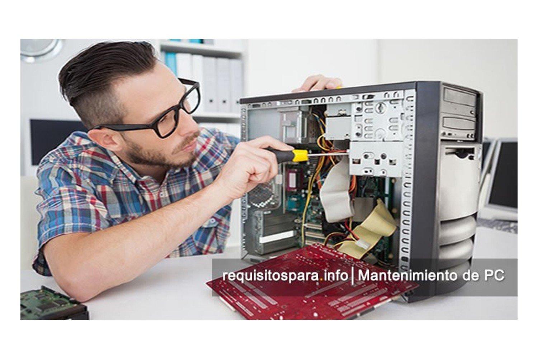 Requisitos para contratar servicios de mantenimiento